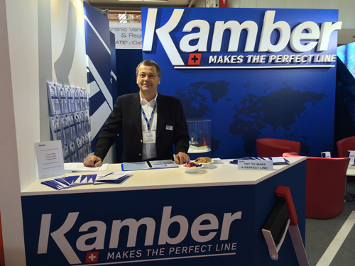 Kamber at the Intertraffic exhibition in Amsterdam